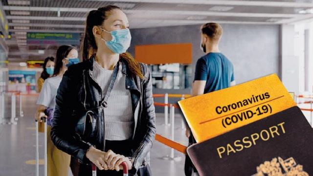 """Avrupa Birliği (AB) Komisyonu, Covid-19 aşısı olanların yaz aylarında AB içinde serbest dolaşımını sağlamak üzere hazırlanması planlanan """"aşı pasaportu"""" için yasa teklifi vermeye hazırlanıyor.  Ancak sertifikanın önünde hem tıbbi gerekçeler hem de temel haklarla ilgili belirsizlikler ve tartışma konuları söz konusu."""
