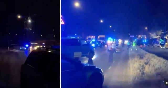 Başkent Stockholm'ün Upplands Väsby semtinde bir soyguna karışarak, ayrıca adam kaçırma olayına karıştıkları gerekçesiyle polise ihbar edilen zanlılar ile polis arasında hollywood filmlerini aratmayan bir kovalamaca yaşandı.  Kaçan aracı takibe alan polis ile silahlı oldukları belirtilen soyguncular arasında kovalamaca başladı.  Silahlı bir soygunun ardından polis tarfından kovalanan araç devrildi.  Soyguncuların içinde bulunduğu aracın devrilmesi üzerine, içinde bulunanlar yaralandı. Edinilen bilgilere göre, zanlılar hastaneye kaldırılarak tedavi altına alındı.
