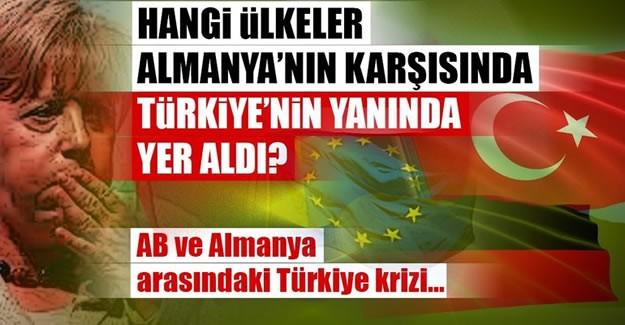 """10 SORUDA AB-ALMANYA ARASINDAKİ TÜRKİYE KRİZİ  Türkiye ve Cumhurbaşkanı Erdoğan düşmanlığında sınır tanımayan Almanya, AB'ye yaptığı """"Türkiye ile müzakereleri durduralım"""" çağrısına olumsuz yanıt aldı. AB'den peş peşe """"Türkiye ile müzakereler devam ediyor, Türkiye bizim için önemli bir ortak"""" yönünde açıklamalar geldi. Peki AB ile Almanya arasında Türkiye kaynaklı bu görüş ayrılığı ne anlama geliyor, Taha Dağlı sabah.com.tr'ye değerlendirdi."""