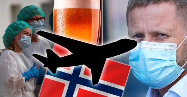 Norveç'te koronavirüs vakalarının artmasından sonra yeni kısıtlamalara gidilmesine karar verildi.  Norveç Halk Sağlığı Kurumu tavsiyeleri üzerine, hükümet yeni tedbirler aldı.  Alınan tedbirler arasında hükümetin izin verdiği listede olmayan ülkelere uçmak isteyen yolculara izin verilmeyecek.  Basına yansıya habere göre, gece yarısından sonra ülke genelinde alkol servisi yapılmayacak ve ülkenin güvenilir listesinde yer almayan ülkelere uçuşa izin verilmeyecek.