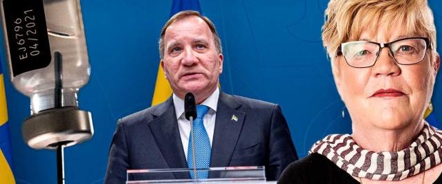 """Mellin köşesine taşıdığı eleştirel yazıda şunlara yer verdi:  """"Noel'den hemen önce, Avrupa İlaç Ajansı, AB'nin tüm yetişkin nüfusu covid-19'a karşı aşılamak için satın alma sözleşmesi imzaladığı aşıların ilkini onayladı.  Başbakan Stefan Löfven liderliğindeki hükümet doğal olarak mutluydu. 27 Aralık'ta, Mjölby'deki Gun-Britt Johansson İsveç'teki ilk aşı dozunu aldı.  Aşılamanın başlamasıyla ilgili olarak Sosyal İşler Bakanı Lena Hallengren ve aşı koordinatörü Richard Bergström gibi önde gelen temsilcilerin gösterdikleri özgüven, hatta kibir harikaydı.  İsveç'in 18 yaşın üzerindeki tüm nüfusunu 8,2 milyon insanı aşılamak hiç sorun olmaz. Sağlık hizmetleri, her yıl iki ila dört milyon insanı mevsimsel gribe karşı aşılamak için kullanılıyordu. Hazırlık, rutinler her şey yerindeydi. Bu sadece bir başlangıç meselesiydi. Her şey rayında gibi gidecekti.  İnatçıydı. Cüretkardı ve ortaya çıkacak sorunları düşünmeyecek kadar çılgınca sözler sarf edildi. Ancak hesaplar tutmadı"""