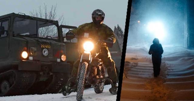 İsveç'in Västernorrland bölgesindeki aşırı kar yağışı nedeniyle Silahlı Kuvvetleri göreve çağrıldı.  Västernorrland etkili olan kar yağışı nedeniyle bölgedeki bir çok yolda ulaşım sorunu yaşanıyor.  Bölgedeki aşırı kar yağışı nedeniyle otobüsler iptal edildi, trenler durduruldu ve büyük sorunlar bildirildi.