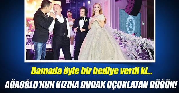 Ağaoğlu Şirketler Grubu Yönetim Kurulu Başkanı Ali Ağaoğlu kızını evlendirdi.
