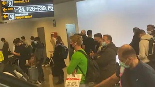 sveç'in Uluslararası Arlanda havalimanında bilgisayar sistemlerinin çökmesi sonucu meydana gelen kalabalık endişe yaratıyor.  Büyük bir BT kazası, sınır polisinin pasaport yönetimini ve polisin suç raporları alma sistemini etkiliyor. Bu, diğer şeylerin yanı sıra, ayrıca meydana gelen teknik arıza nedeniyle 114 14 nolu telefon ile ihbarların da etkilendiği bildirildi.