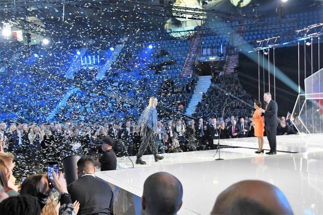 İsveç'te 2018-2019 yılında futbolda başarılı olan sporcular ödüllendirildi.