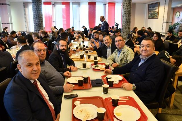 UETD'den İsveç'te kahvaltı programı