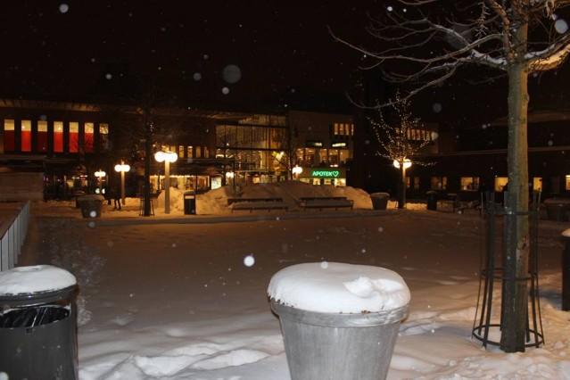 Stockholm'den kar manzarası