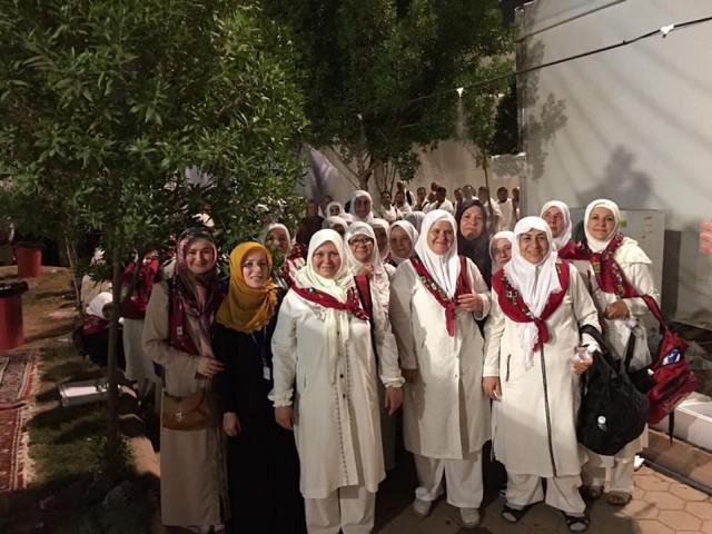 İsveç'ten giden Müslümanlar Hacı olmanın mutluluğunu yaşadı