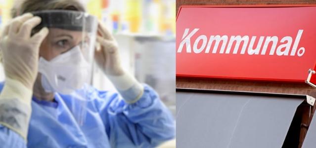 Pandeminin ortasında, Kommunal sendikası özel sağlık ve bakım alanında 55.000 çalışan için bir grev ilan ediyor.  Kommunal'den yapılan bir basın açıklamasına göre, Kommunal ve Almega Vårdföretagarna arasındaki maaş artırımları ile ilgili görüşmelerdeki anlaşmazlıklar durumu zora soktu.