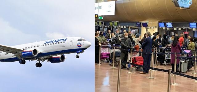 İsveç Türkiye uçuşlarının bugün başlamasıyla birlikte sabahtan bu yana Arlanda Havalimanında Türkiye'ye gitmek için gurbetçi hareketliliği yaşanıyor.