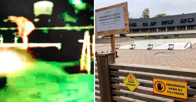 İsveç'in Hörby belediyesi yönetim kurulu konferansından sonra bir skandala imza atıldı.  Hörby'nin üst düzey yöneticilerinden ikisi ortak kullanılan kapalı havuza çıplak olarak girince görüntüler karşısında şaşkınlık yaşandı.