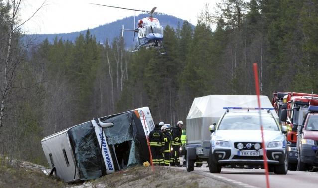 İsveç'te geçtiğimiz günlerde çocuk ve gençlerden oluşan 52 yolcuyu taşırken devrilen otobüs şoförü konuştu.
