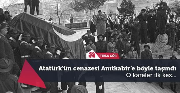 Mustafa Kemal Atatürk'ün 15 yıl boyunca Etnografya Müzesi'ndeki geçici kabirde kalan cenazesi, 10 Kasım 1953 günü Anıtkabir'e nakledildi.