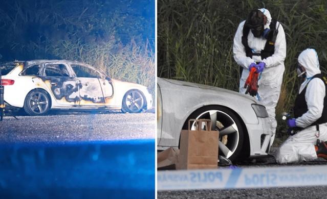 İsveç'in Botkyrka bölgesindeki bir benzin istasyonunda çete hesaplaşmasının ortasında kalması sonucu hayatını kaybeden 12 yaşındaki küçük kızın öldürüldüğü olayda kullanıldığı belirlenen Audi marka beyaz araçla ilgili aramalar devam ederken, dün gece Sollentuna'daki bir çakıl yolda ateşe verilmiş audi marka beyaz bir otomobil bulundu.  Edinilen bilgilere göre, muhtemelen Botkyrka'daki 12 yaşındaki kızın öldürüldüğü olayda kullanılan araç olduğu düşünülüyor.