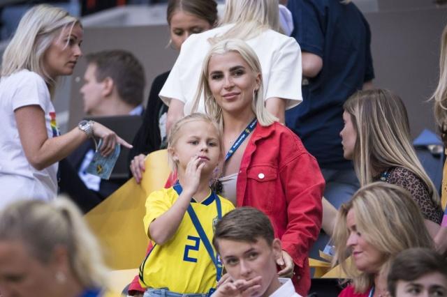İsveç Milli takımının Rusya Dünya turnuvasında en büyük destekçileri aileleri.