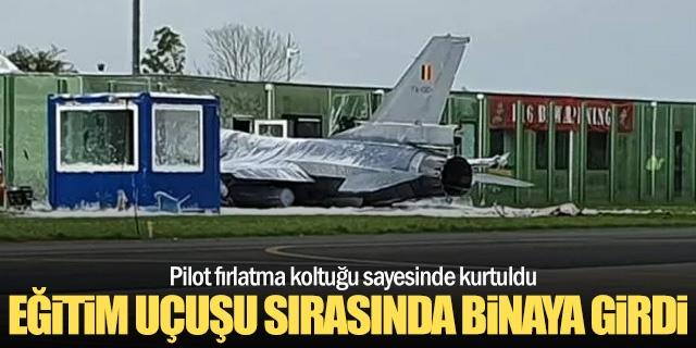 Hollanda'da F-16 uçağının Leeuwarden Hava Üssü'nde bir binaya çarpması sonucu 2 kişinin yaralandığı bildirildi.  Yerel medyadaki haberde, Leeuwarden Hava Üssü'nde düzenli olarak eğitim uçuşu yapan Belçika'ya ait F-16 uçağının kalkış sırasında hava üssünde bir binaya çarptığı belirtildi.