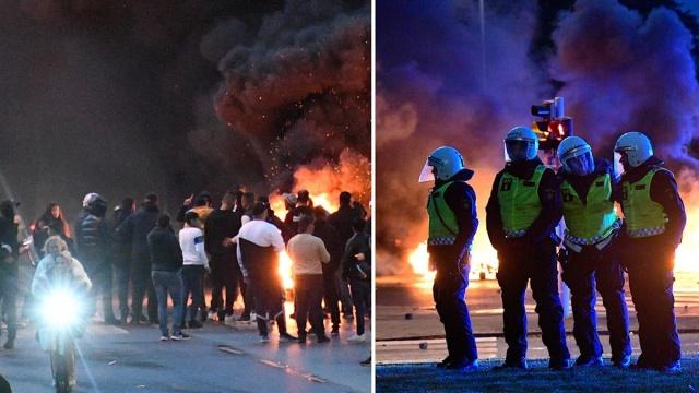 İsveç'in Malmö kentinde Kuran'ın yakılmasının ardından yedi kişi isyan suçundan hüküm giydi.  Kuran'ın yakılması ve dini inançlara saygısızlığın ardından Malmö'de meydana gelen şiddetli protestolar nedeniyle yedi kişi hüküm giydi. Ayaklanmanın kışkırtılması ve sosyal medyada canlı yayınlanmasının ardından 31 yaşındaki bir kişi gözaltına alınmıştı.