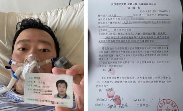 Çinli doktor koronavirüsünü ilk bulan ve dünyaya tehlikeyi aktaran doktor olan Li Wenliang, yakalandığı Corona Virüsüne yenik düştü.