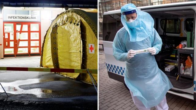 İsveç'in salgın merkezi başkent Stockholm'de hayatını kaybedenleri sayısı 63'e yükselirken toplam vaka sayısı 1538 olduğu belirtildi. Son 24 saat içinde Stockholm'de 237 yeni vaka tespit edildi.