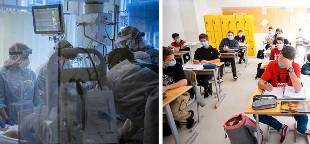 Aftonbladet'in yaptığı bir incelemeye göre, İsveç Çalışma Ortamı Otoritesine bildirilen korona olaylarının çoğu okul öncesi ve ilkokuldan geliyor. Sağlık hizmetlerinden çok daha fazlası okullar var.  Aynı zamanda gençler arasında enfeksiyon hızla artıyor.  Şimdi hükümet okulları korumadığı için eleştiriliyor.  İsveç Öğretmenler Sendikası başkanı Johanna Jaara Åstrand, Bu çok büyük bir oyun çünkü daha fazla öğretmen ve öğrencinin hastalanma riski çok açık dedi.  Enfeksiyonun yayılması artmaya devam ediyor ve artık çocuklar ve gençler arasında bile yüksek.