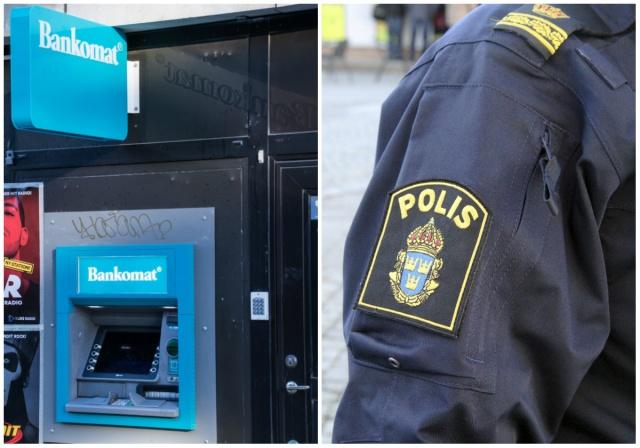 Norrköping'deki bir ATM'den para çekerken, gasp edildiği bildirildi.  Edinilen bilgilere göre, Norrköping'deki bir ATM'de para çeken kadının gasp edilmesiyle bağlantılı olarak öğle saat 12 sıralarında gasp edildiği ihbarı üzerine polis hareke geçti.