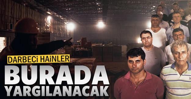 Fetullahçı Terör Örgütünün (FETÖ) darbe  girişimine ilişkin yargılamaların yapılacağı, bin 545 kişi kapasiteli Türkiye'nin  en büyük duruşma salonunun inşaatında sona yaklaşıldı.