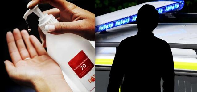 Västerås'ta 35 yaşlarındaki bir kişi, koronavirüs nedeniyle mağazaya konan el dezenfektanını içip yoldan geçenlere saldırdı.  Västerås bölge polis karakoluna saat 14: 30'da gelen ihbar üzerine harekete geçti.  Edinilen bilgilere göre, 35'li yaşlarda bir kişi, el dezenfektanı içerek çevredekilere saldırdı.  Kısa bir süre sonra 50'li yaşlarında birinin daha kavgaya müdahil olduğu belirtildi.