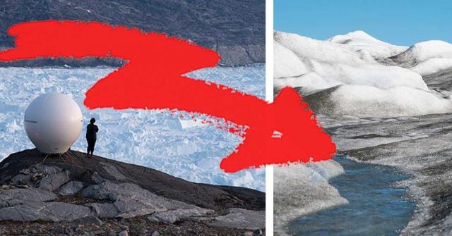 """Salı günü, Grönland'da ABD'nin Florida eyaleti kadar büyüklükte bir alan küresel iklim etkisiyle bir günde eridi.  Son yıllarda giderek artan küresel ısınma sonucunda buzllar hızla eriyor. Uzmanlar, Grönland'da yaşanan bir günlük dev erimeyi de iklim değişikliğine bağlıyor.  Araştırmacı Thomas Slater CNN'e verdiği demeçte, """"Grönland'da buzların erimesi giderek daha ciddi ve riskli hale geldi"""" dedi.  Grönland'ın görüntüsü genellikle güzel soğuk, buzla kaplı bir manzara içerir."""