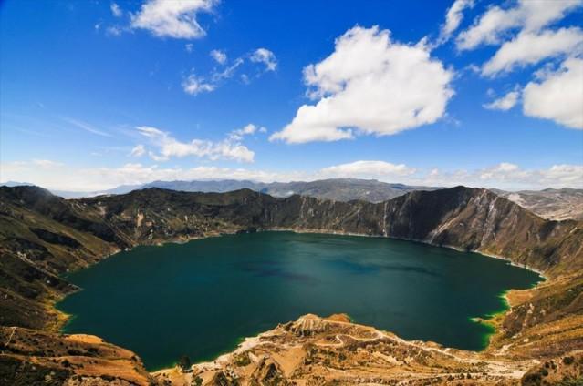 Ekvador  90 gün vizesiz.