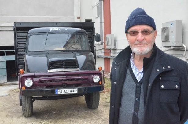 Türkoğlu, yaptığı açıklamada, 1964 yılında Trabzon'un Çaykara ilçesinde satın aldığı ve yaklaşık 7 yıl kullandığı kamyonunu satarak iş değişikliği nedeniyle İstanbul'a yerleştiğini söyledi.