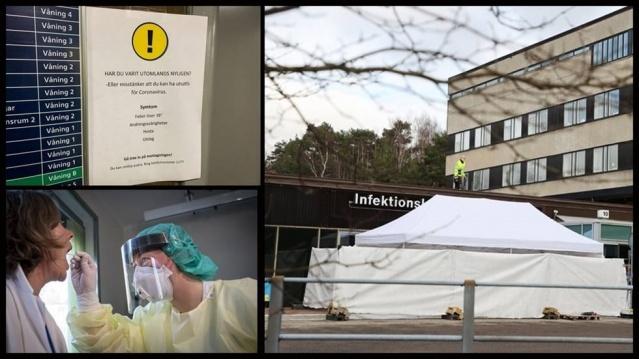 İsveç Halk Sağlığı Kurumu internet sitesinde güncellenen verilere göre, İsveç'teki vaka sayısı 14 bin 385 olurken, covid-19 nedeniyle hayatını kaybeden kişi sayısı 1.540'a ulaştı.