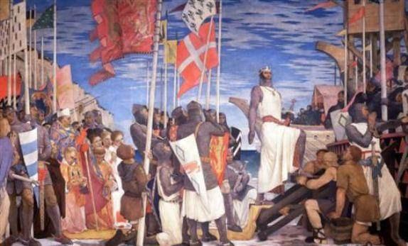 Antakya' ya ulaştıklarında ise, başlarında ki kan içici papaz, Pierrre I' Ermit'in ısrarıyla, yerlerde yatan şehit Türklerinin cesetlerini birer birer toplamışlar, etlerini kemiklerinden ayırmışlar; sonra da tuzlamış, pişirmiş ve karınlarını bununla doyurmuşlardı.