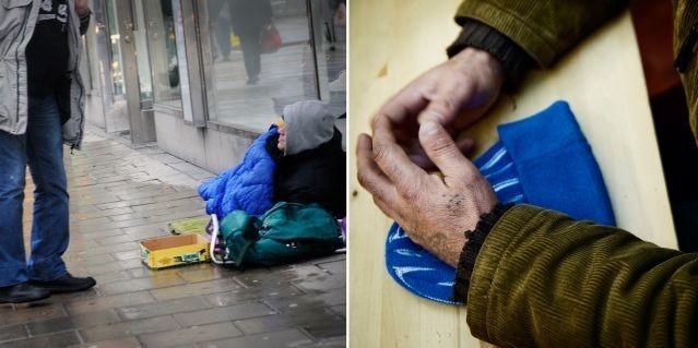 İsveç'in başkenti Stockholm'de evsizlere yemek dağıtmaya çalışan bir genç saldırıya uğradı.
