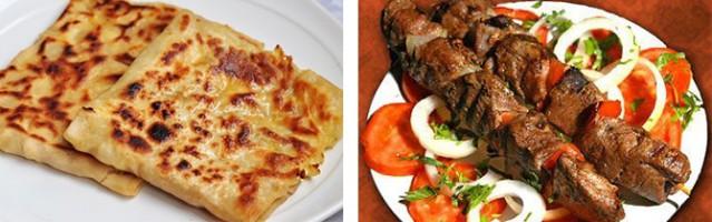4- Bolu: Bolu mutfağı, ülkemizin en meşhur mutfaklarından biridir.Bu lezzetlerin başında kabaklı gözleme geliyor. Kabaklı gözlemenin yanı sıra Abant Gölü'nün ismini verdiği Abant kebabı da diğer yöresel yemeklerinin başında geliyor.