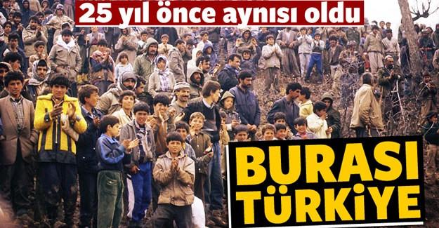 Ülkemize sığınan binlerce Suriyeli göçmenin kaderini bundan 25 yıl önce çoğunluğunu Kürtlerin oluşturduğu 460 bin Iraklı yaşamıştı.