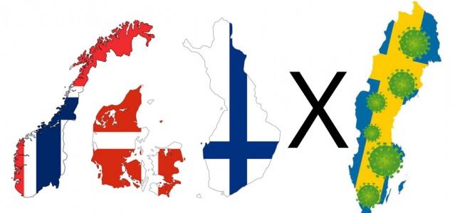 Danimarka ve Norveç 15 Haziran'dan itibaren ülkeler arasında seyahat etmeyi kabul ederek, sınırları açacağını duyurdu.  Şimdiye kadar İskandinav ülkelerin arasında koronavirüsle mücadele modelleri ve davranışları ayrışan tek İskandinav ülkesi İsveç olarak görünüyor.  İsveç'in komşularının tersine sıkı önlemler almamasıyla eleştirilmeye devam ediyor. Komşu ülkelerin eleştirilerini uygulamaya geçirdiği günlerden geçiyoruz.