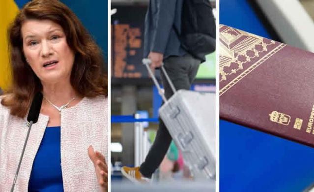 İsveç Dışişleri Bakanı Ann Linde, düzenlediği basın toplantısında, AB dışındaki ülkelere gereksiz seyahatlerle ilgili tavsiyelerini 15 Nisan'a kadar uzattıklarını açıkladı.  İngiliz mutasyonunun ciddi şekilde yayıldığı Norveç, Danimarka ve İngiltere'den ülkeye girişlere kısıtlama getiren İsveç, AB seyahat kısıtlama tavsiyeleri kapsamında yurtdışı seyahatlerinin 15 Nisan'a kadar uzatıldığını da duyurdu.