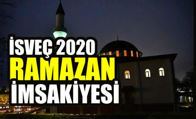 İsveç 2020 Ramazan İmsakiyesi  DİKKAT! İmsakiye bölge isimleri fotoğrafların alt kısmında yer almaktadır.  Bilgiler Türkiye Diyanet Başkanlığı verilerinden alınmıştır.