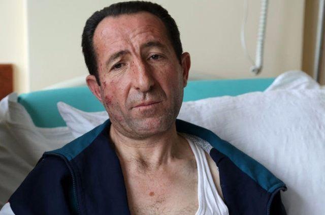 KAHRAMAN ŞOFÖR YARALI HALDE YOLCULARA YARDIM ETTİ  Ankara Kızılay'daki terör saldırısında hurdaya dönen yolcu otobüsünün şoförü Necati Yılmaz, yaralarına aldırmadan önünde bulunan halk otobüsündeki vatandaşların çıkarılmasına yardım etti. Ufuk Üniversitesi Dr. Rıdvan Ege Sağlık Araştırma ve Uygulama Hastanesinde tedavi altında olan Yılmaz, yüzünde, el ve bacaklarında yanıklar bulunduğunu, genel durumunun ise iyi olduğunu söyledi.