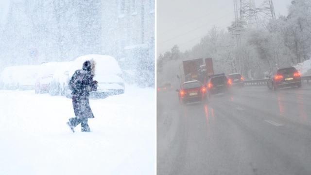 İsveç'in kuzey bölgelerinde kar yağışı ve aşırı rüzgar bölge yaşayanları olumsuz etkiliyor.  Şiddetli kar yağışı ve rüzgar bugün Västerbotten ve Norrbotten'in bazı bölgelerinde yaşayanları olumsuz etkiliyor. İç kesimlerde, bazı yerlerde üç desimetreye kadar kar olabilir.