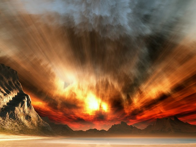 Kıyamet gününün alametleri, kıyametin kopmasından olan ve kıyametin yakın olduğunu gösteren işaretlerdir. İşte Kıyametin on alametlerinden bazıları şunlardır;  Hazret-i Mehdi gelecek  Hadis-i şeriflerde buyuruldu ki: Kıyamet kopmadan önce, Allahü teâlâ, benim evladımdan birini yaratır ki, ismi benim ismim gibi, babasının ismi, benim babamın ismi gibi olur. Ondan önce dünya zulümle dolu iken, onun zamanında adaletle dolar. (Tirmizi)