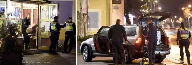 İsveç'in Gislaved bölgesinde otel restoranına yapılan silahlı soygun sırasında bir kişi hayatını kaybetti.
