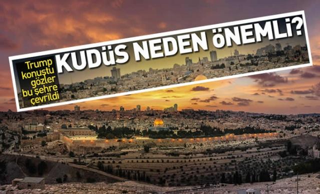 ABD Başkanı Donald Trump, İsrail - Filistin sorununu kalıcı olarak çözeceğini iddia ettiği 'Orta Doğu barış planını' açıkladı. Planın en tartışmalı maddelerinden birisi Müslümanlar, Hristiyanlar ve Museviler tarafından 'kutsal kent' olarak kabul dilen Kudüs'le ilgili.