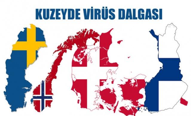 İsveç, Norveç, Danimarka ve Finlandiya gibi kuzey ülkelerinde koronavirüs vakaları hızla artıyor.