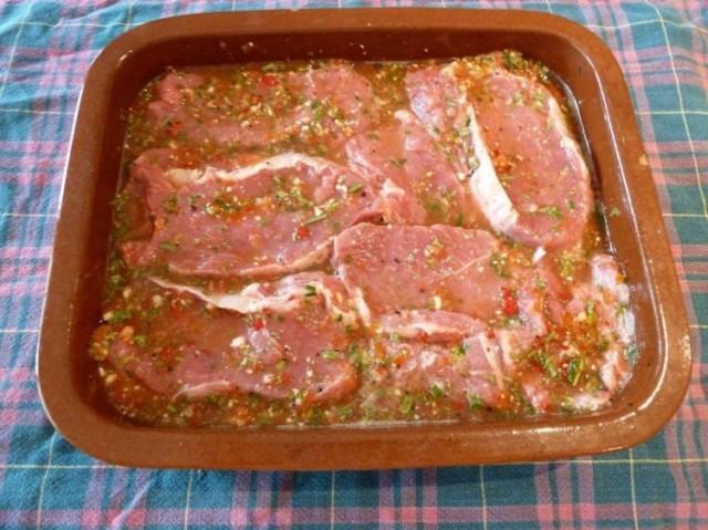 Маринад свинины рецепт фото