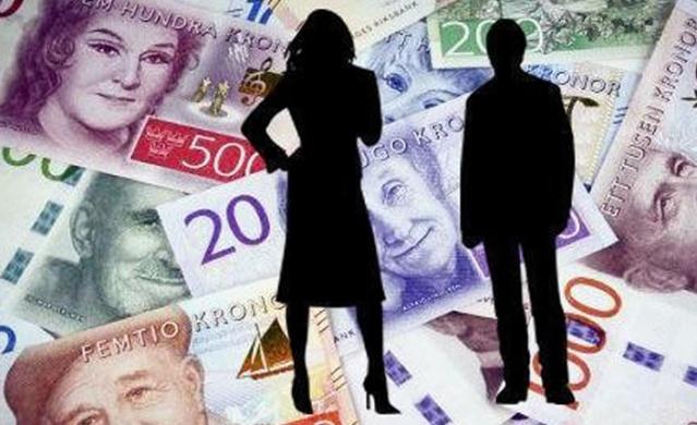Dünyada maaşların en yüksek olduğu ülkelerden biri olan İsveç, 2017 yılında kişibaşına düşen milli gelire göre ilk 10'a girmeyi başarmıştı. İsveç'te vergi öncesi (tutulan vergi yüzde 29,4-yüzde 35,4 komuna göre degişiyor) ortalama aylık brüt maaş yaklaşık 32 bin 300 kron'dur.  İsveçte en yüksek maaş ve düşük maaş alan meslek dalları şöyle: En yüksek maaş alanlar doktorlar, finansal analistler, yatırım danışmanları olurken, en düşük maaş alanlar ise bekçi, aşçı ve kasiyerler. İsveç İstatistik Kurumunun, Devlet Vergi dairesi raporlarına dayanarak İsveç'te vergi öncesi farklı alanlardaki maaşları açıkladı: