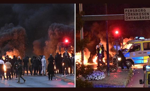 İsveç'in Malmö şehrinde İslam Dini düşmanı ve provokatif eylemleriyle bilinen Danimarkalı aşırı sağcı Sıkı Yön Stram Kurs lideri Rasmus Paludan eyleminden sonra şehirde büyük tepki çekti.  İsveç polisinin eyleminden sonra yakalayarak, İsveç'e 2 yıl girişinin yasaklanmasıyla sınır dışı edilen ırkçının kutsal kitabı yakma ve tekmeletme olaylarından sonra Malmö'de büyük tepkilere neden oldu.  Kuran'ı kerimin yakılıp tekmelenmesine tepki gösteren yüzlerce kişi Malmö Amiralsgatan'da toplandı.