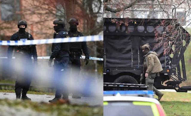 İsveç'in başkenti Stockholm'ün Sunbyberg bölgesinde bir kişinin evde silahlı bir şekilde barikat kurarak polise direndiği duyuruldu. Geceden beri ikna edilmeye çalışılan zanlıya karşı büyük bir operasyon başlatıldı.