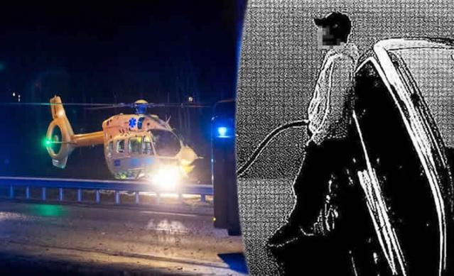 İsveç'te araba hırsızı ve hız yapmakla bilinen bir hırsız, polisle defalarca girdiği kovalamacadan kurtulmayı başarmıştı.