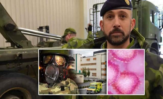 Dünyaya hızla yayılan koronavirüs salgınına karşı riskleri gözönünde bulundurarak yoğun çalışmalar yapan İsveç'te sağlık kurumlar ve ordu ortak çalışmalar yürütüyor.  Son zamanlarda, İsveç Silahlı Kuvvetleri, İsveç Sosyal Koruma ve Hazırlık Ajansı (MSB) ve Halk Sağlığı Ajansı, İsveç'teki Corona virüsünün olası bir salgını ile başa çıkmak ve bunları analiz etmek için büyük bir çalışma yürüttü.  Tatbikatın yeri İsveç Silahlı Kuvvetlerinin yüksek güvenlik laboratuvarının test edildiği Uppsala Garnizonu ve Akademiska hastanesiydi.  Corona virüsünün kapsamı artmaya devam ediyor. Birçok İsveçliler için iki popüler yer olan İran ve İtalya'daki diğer salgınlardan sonra, uzmanlar artık İsveç'in salgınlardan da etkilenebileceği konusunda uyarıyorlar.